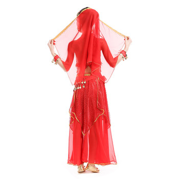 Belly Dance Costumes for Kids Girls Skirt Bollywood Dancing Indian Dress