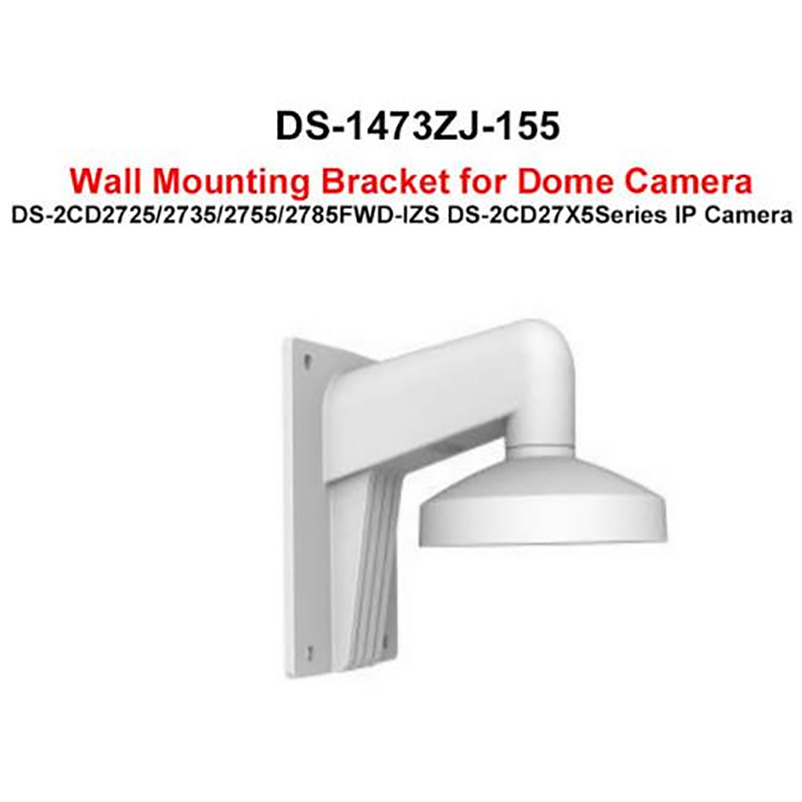 DS 1473ZJ 155 wall mount bracket for DS 2CD2785FWD IZS DS 2CD2755FWD IZS DS 2CD2735FWD IZS DS 2CD2725FWD IZS-in CCTV Accessories from Security & Protection