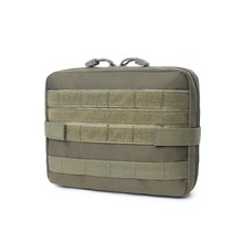 цена на 1000D Nylon Outdoor First Aid Kits Camping Climbing Emergency bag Durable Camouflage Tactical Waist Pack