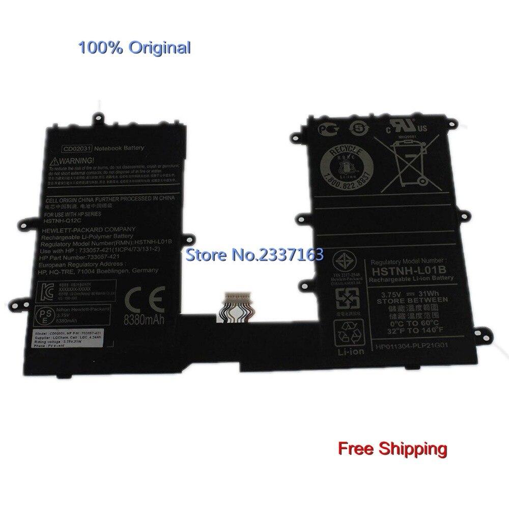 IECWANX 100% new Laptop Battery CD02031 (3.75V 31Wh 8380mAh) for HP Omni10 Pro Tablet 610 CD02 740479-001 HSTNH-Q12C