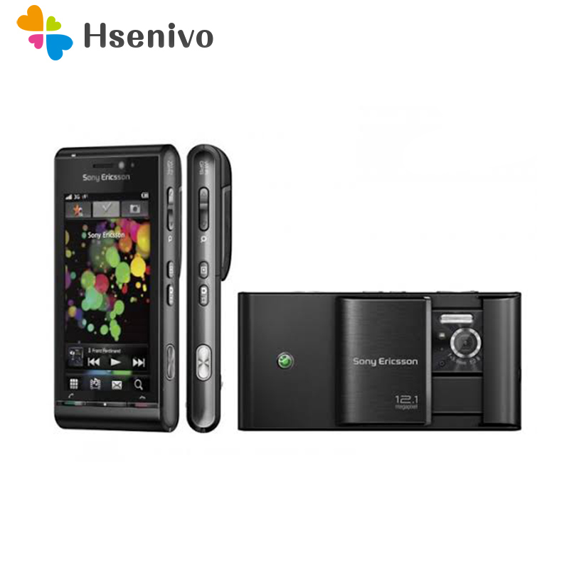 100% Original Sony Ericsson U1 U1i Satio Mobile Phone Unlocked 3G 12MP Wifi GPS 3.5