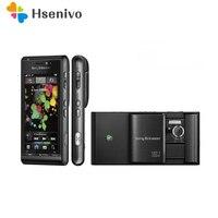 100% Original Sony Ericsson U1 U1i Satio Mobile Phone Unlocked 3G 12MP Wifi GPS 3.5 Touchscreen GSM Free shipping