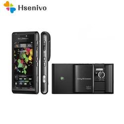 100% Originele Sony Ericsson U1 U1i Satio Mobiele Telefoon Unlocked 3G 12MP Wifi GPS 3.5