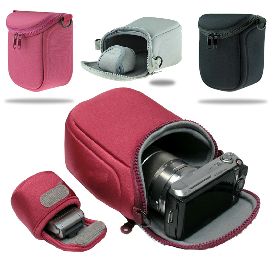 NEW Camera Cover Case Bag for Fujifilm XA10 X30 XA3 XA2 XA1 XM1 XE2S XE2 XE1 XT20 XT10 XT2 XT1 With Strap and Small Battery Case