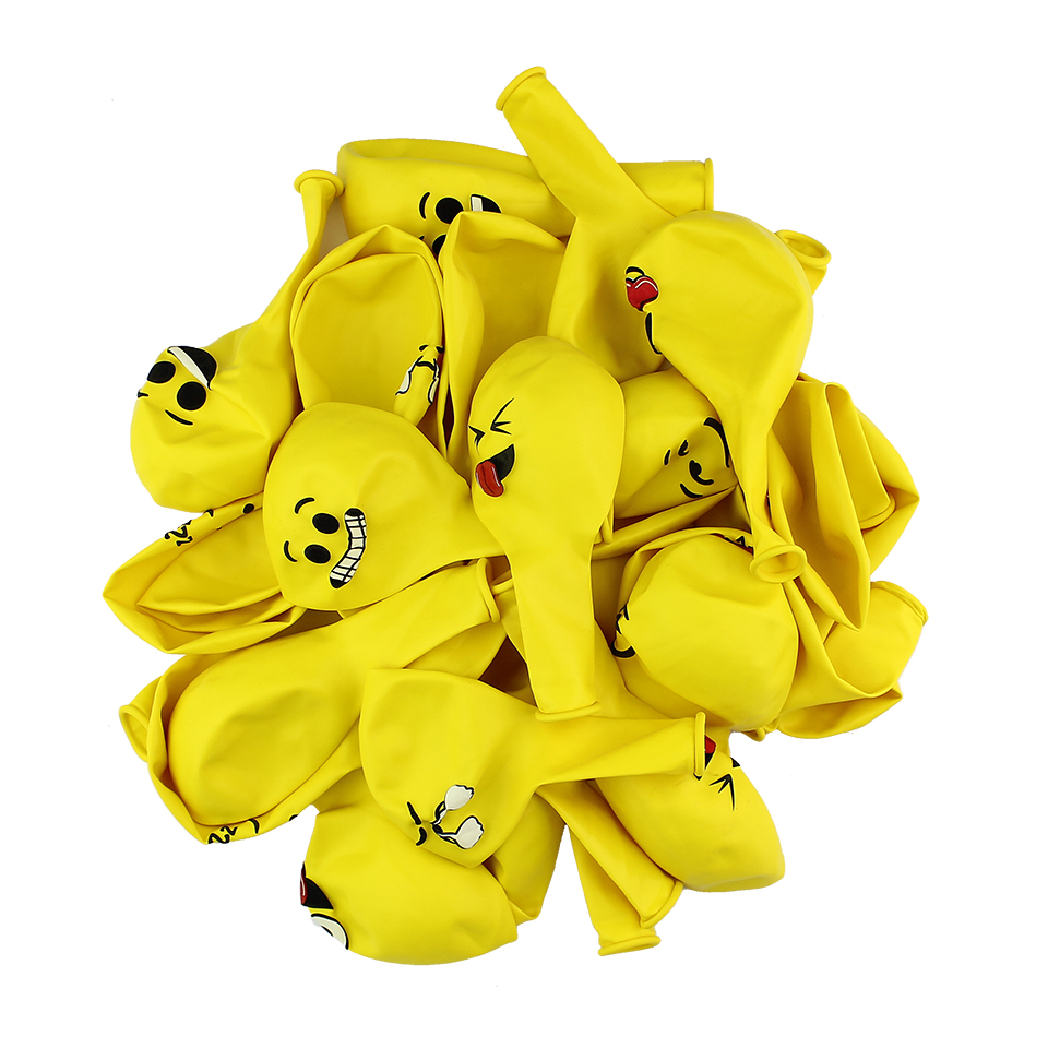 Huadodo 20pcs 12 emoji latex balloons smiley face balloon for baby huadodo 20pcs 12 emoji latex balloons smiley face balloon for baby shower wedding birthday fun party decoration in ballons accessories from home izmirmasajfo