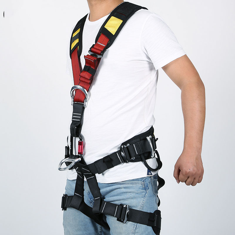 Body Safety Belt for High Altitude Operation Rock Climbing Rescue Body Safety Harness Comfortable Safe Rock Climbing Equipment - 4