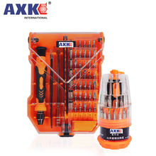AXK 35 in 1 Screwdriver Set Home Useful Multi Tool Multi-Bit Tools Repair Torx Screw Driver Screwdrivers Kit Hand Tools