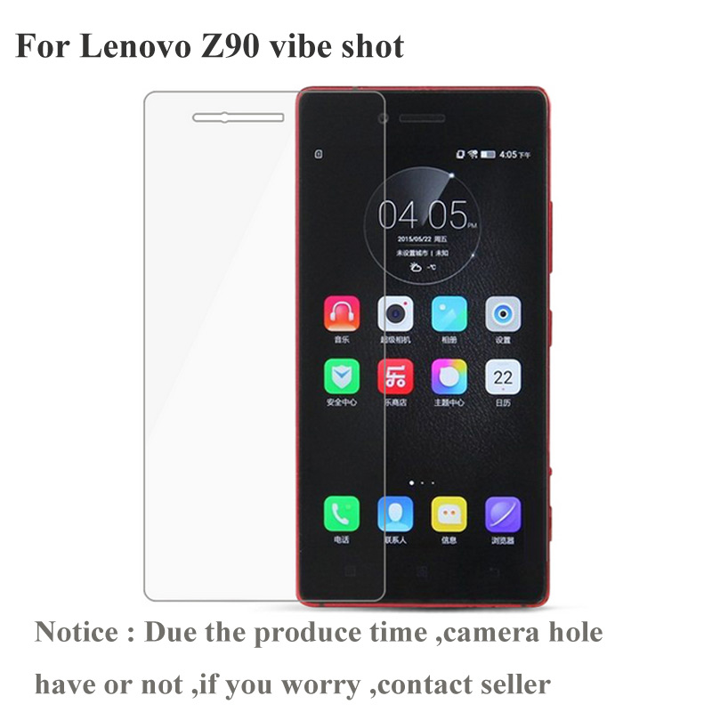 For Lenovo VIBE Shot Screen Protector Amazing H Anti-Explosion Tempered Glass For Lenovo VIBE