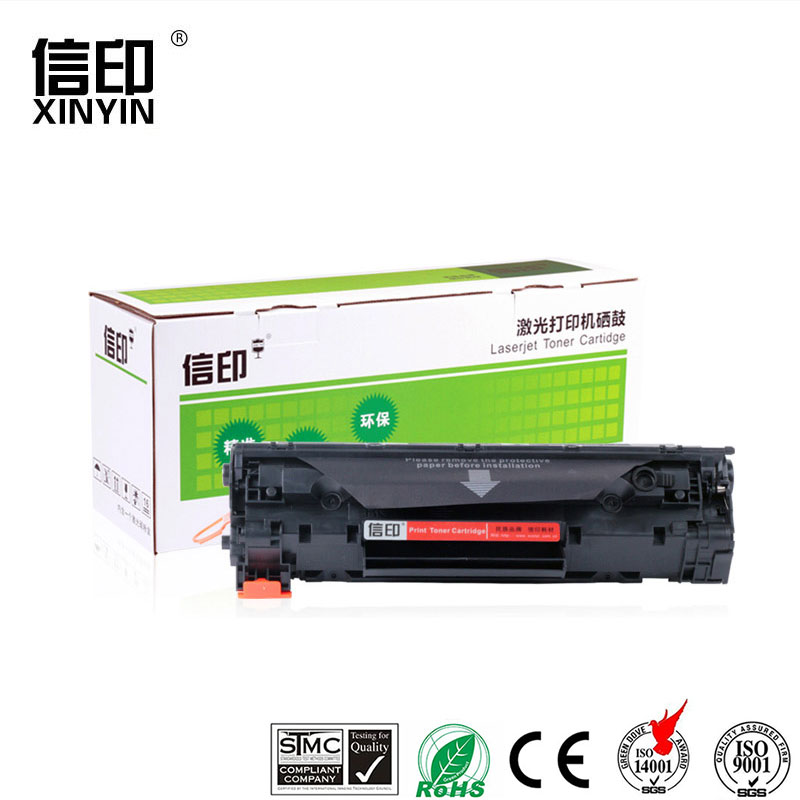 XColor CB435A 35A 435A compatible premium <font><b>toner</b></font> cartridge for <font><b>hp</b></font> LaserJet P1005 <font><b>P1006</b></font> P 1005 1006 printer image