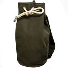Drawstring Canvas Bucket Bags Backpacks for Teenage Boys Mens Outdoors Storage Men