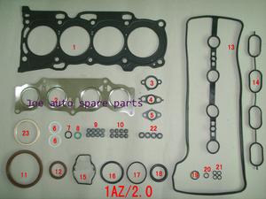 1AZ 1AZFE 1AZ-FE Engine complete Full Gasket Set kit for Toyota RAV 4 Carina Corona Picni CAMRY 2.0L 02- 04111-28143 0411128143(China)