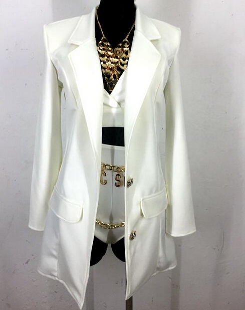 Длинная пункт ультратонкий костюм треугольник бюстгальтер короткая пиджаки пальто одежда комплект женское певица танцор dj костюм наряд