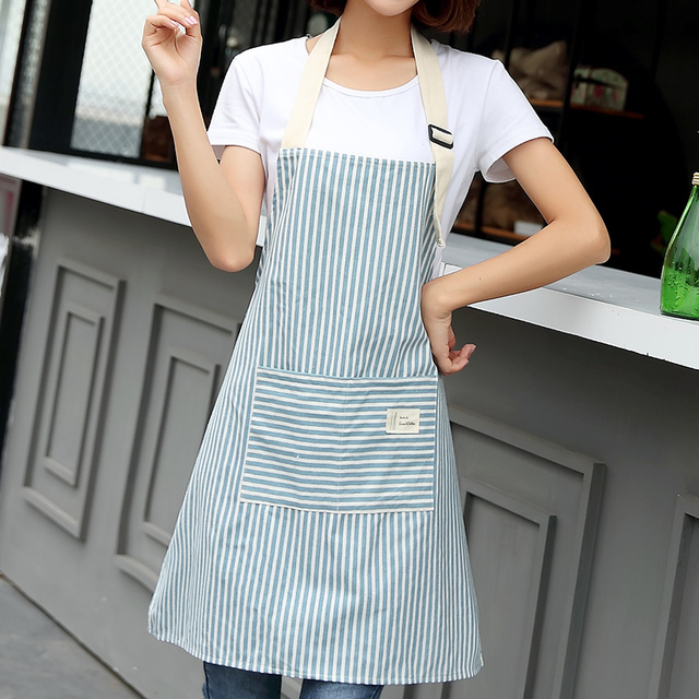 Kitchen Aprons – Stripes: Women