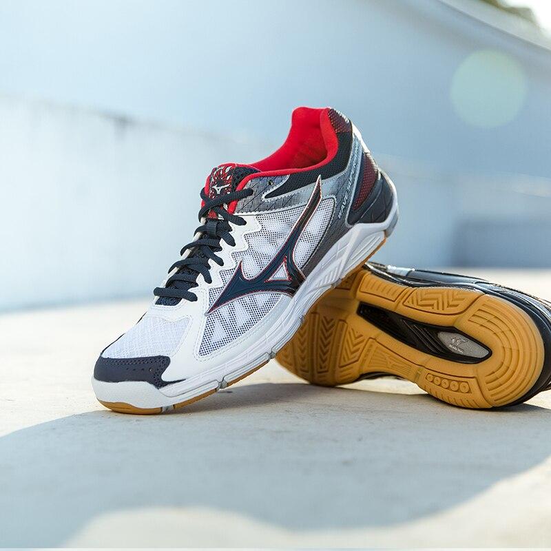 d5dc66f23f 2018 MIZUNO SUPERSÔNICO Vôlei Sapatos Almofada das mulheres dos homens  Calçados Esportivos Respirável Não slip interior Tênis Tenis Voleibol em  Sapatos de ...
