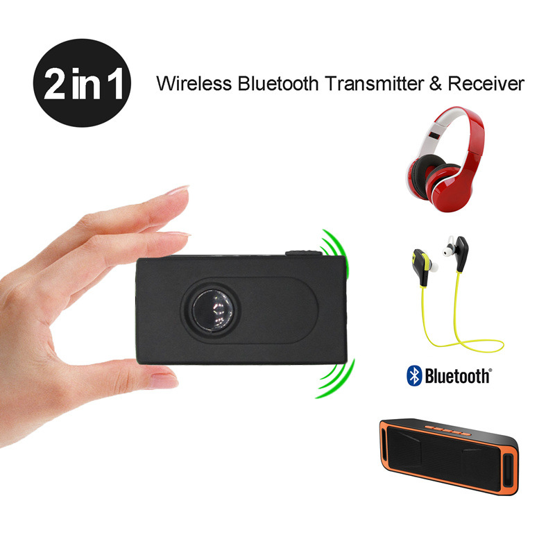 Bluetooth V4 Transmitter Receiver Wireless A2DP 3.5mm Stereo Audio USB Adapter