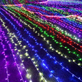 30M 8 Modes 200 Led Light String Christmas Party Stage garland Wedding Fairy decoration Lighting Show Rope lights