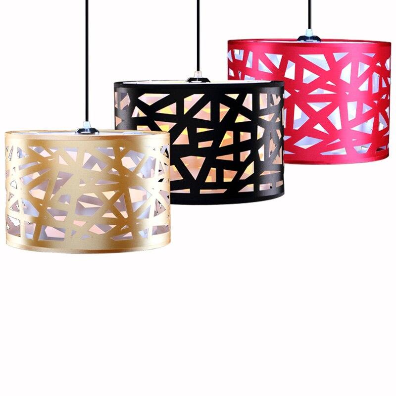 Modern Minimalist Pendant Lights Creative Nest Lamps 90~260V Restaurant Dining Room Lighting Bar Personality Lamps E27 WPL219