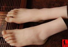 Realistic Life size LEFE AND RIGHT male mannequin foot,manikin foot for shoes/socks /anklets display