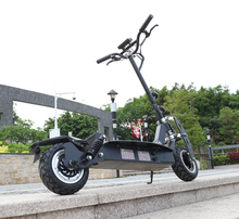 11inch electric scooter Front and rear dual motor drive off-road e-scooter 60V20AH lithium battery 2400w motor maximum 80 16 front rear drive hub motor with lcd throttle disc brake set electric scooter kit for home scooter folding scooter diy