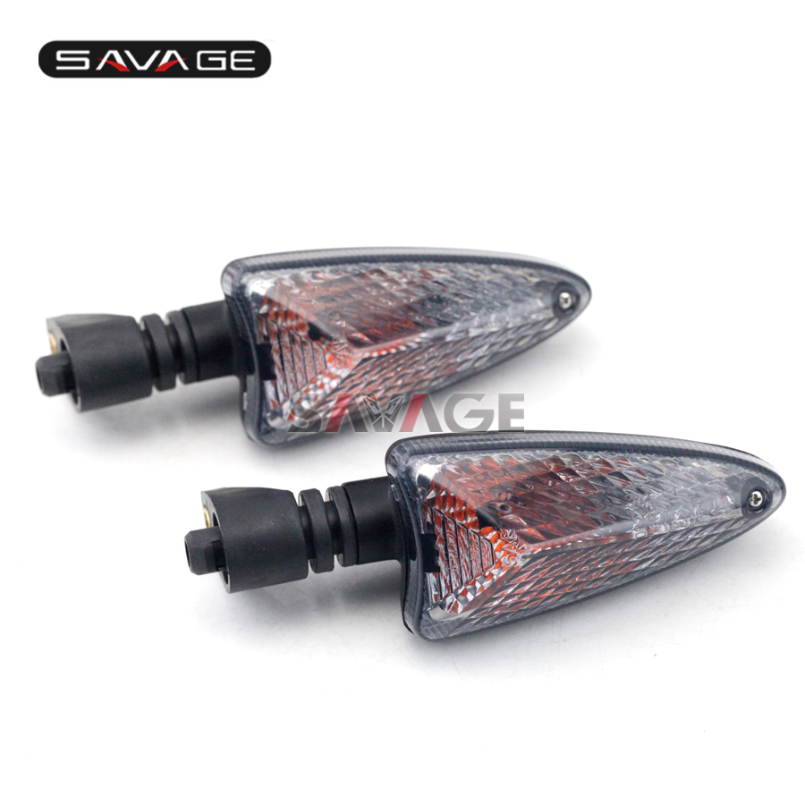 For Triumph Tiger 800/XC, Tiger 1050, Daytona 675/R Motocycle Accessories Front/Rear Turn Signal Light Indicator Lamp Smoke