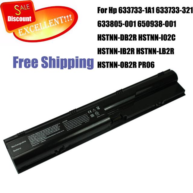 633733-1A1 batería del ordenador portátil Para Hp 633733-321 633805-001 650938-001 HSTNN-DB2R HSTNN-I02C HSTNN-IB2R HSTNN-LB2R HSTNN-OB2R PR06