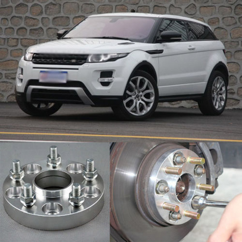 Teeze 4pcs Billet 5 Lug 14*1.5 Studs Wheel Spacers Adapters For Land Rover Freelander 2 2006+/Evoque 2011+ руководящий насос range rover land rover 4 0 4 6 1999 2002 p38 oem qvb000050