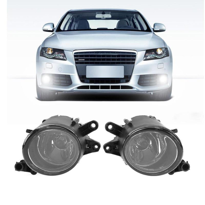 все цены на Vodool 1pair Right Left Car Front Grille Light Front Fog Lamp Replacement for Audi A4 B6 1998-2004 Car Styling Accessaries онлайн