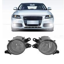 Vodool 1 пара правой и левой автомобилей Передняя решетка, туман замена лампы для Audi A4 B6 1998-2004 стайлинга автомобилей аксессуары