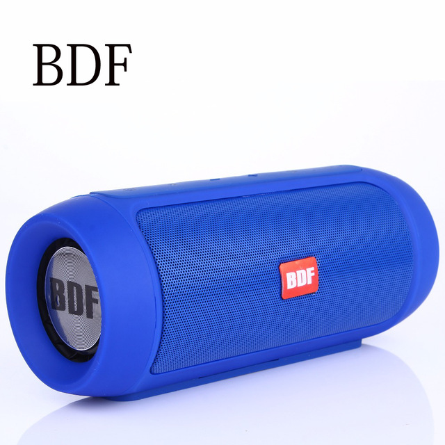 BDF Music Shock Wave Bluetooth Speaker Outdoor Wireless Stereo Hi-Fi Portable Speaker Anti Splash 3000mAh Support Phone PC Mp3 sardine sdy 019 portable hi fi stereo bluetooth speaker support for iphone android phone ipad laptop – black