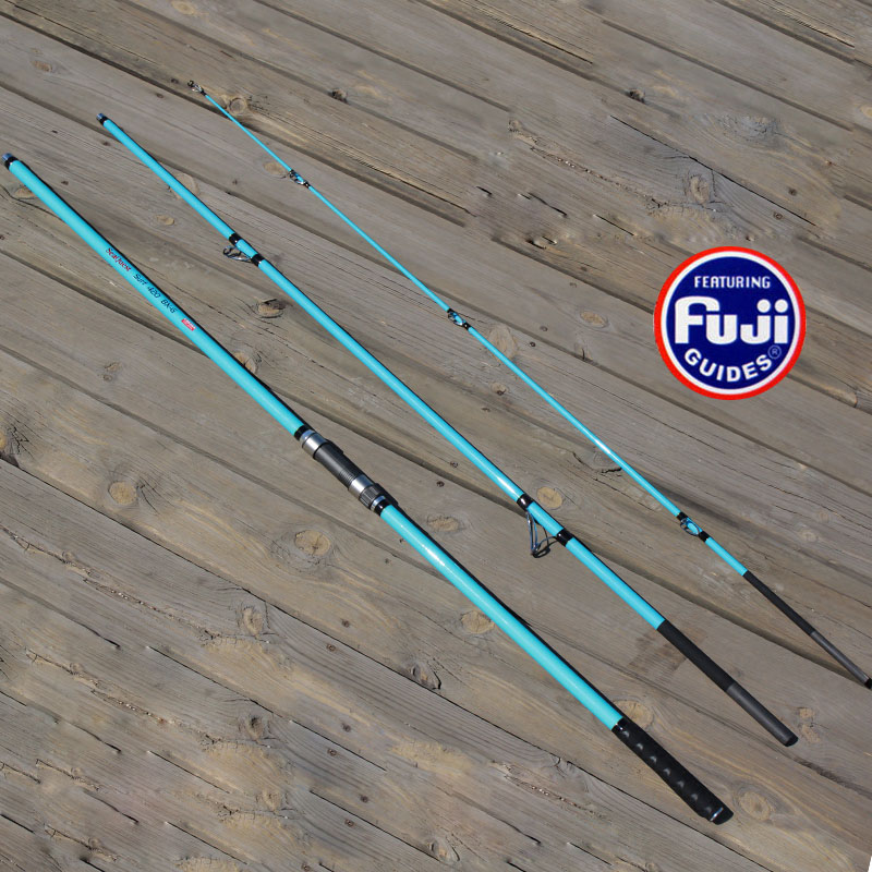 4.2M 3sections high carbon surf rod beach long casting far shot distance throwing rod fishing tackle