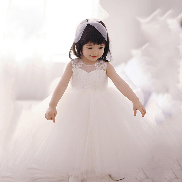 Tutu dress toddler kids dresses for girls clothes birthday party girl