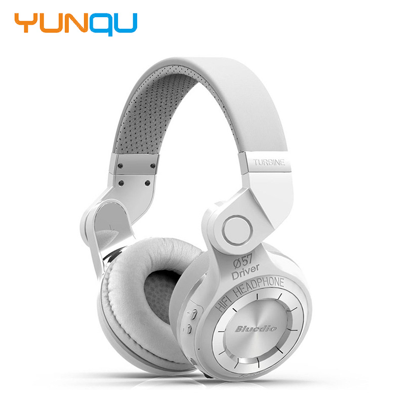 ФОТО Original Bluedio T2 bluetooth headphones wireless bluetooth headset foldable earphone with microphone powerful bass over ear