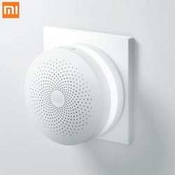 Oryginalny Xiao mi Gateway 2 mi jia inteligentne zestawy do domu brama Hub System alarmowy sterowanie Radio Yi Camers mi czujnik drzwi dzwon temperatura w Inteligentny pilot zdalnego sterowania od Elektronika użytkowa na