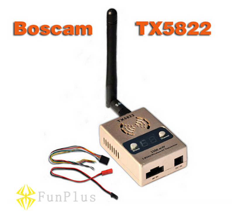 Original Boscam TX5822 2200mv 5.8G 32CH Wireless AV Transmitter FPV ботинки для беговых лыж spine nnn creator 357 20 38