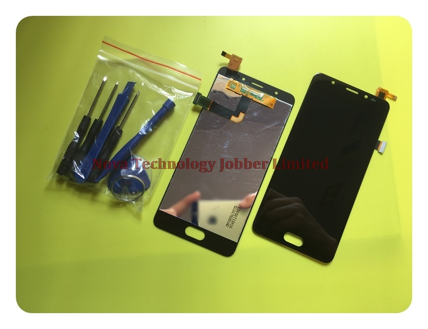 Wyieno 100% Black/Golden Tested Screen For Wiko U Feel Prime LCD Display Monitor With Touch Screen Digitizer Sensor Glass Panel