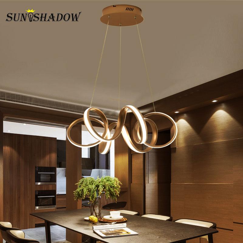 Ceiling Led Pendant Light For Home Living Room Dining Room Restaurant Kitchen Office Lustre Modern Led Pendant Lamp Hanging Lamp