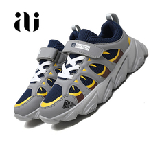 2019 New Autumn Children Shoes Unisex teenage Boys Girls Sneakers Mesh Breathable Fashion Casual Kids Shoes Size 28-39 skhek size 26 37 children s shoes new autumn unisex mesh breathable kids sport shoes candy colors fashion boys girls sneakers
