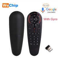 G30 Voice Control 2.4G Wireless G30S Fly Air Mouse Keyboard Motion Sensing Mini Remote Control For Android TV Box PC
