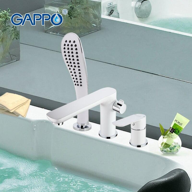 GAPPO cachoeira parede torneira da banheira torneira do banho de chuveiro banho de chuveiro set torneira do chuveiro do banheiro banheira mixer torneira grifo ducha G1148