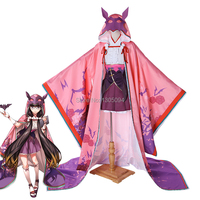 Fate Grand Order Cosplay Assassin Osakabehime Osakabe Hime Cosplay Set Uniform Halloween Costume Girls' Cosplay Carnival