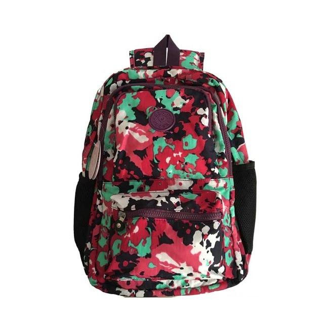 Estilo de moda sacos de escola para adolescentes mulheres saco de nylon mochila mochilas para meninas adolescentes mochila feminina