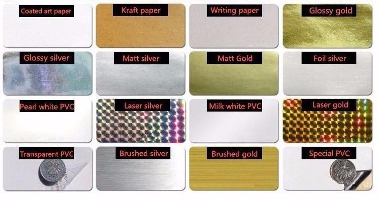 Etiquetas de papel de impressão colorida brilhante,