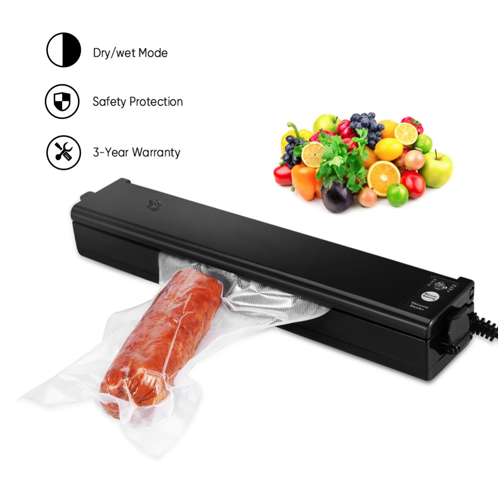 Original Multi-function Vacuum Sealer Automatic Vacuum Sealing System Keeps Food Fresh Packing Machine Bags ud bz50 multi function bottled toothpick packing machine automatic toothpick canning machine