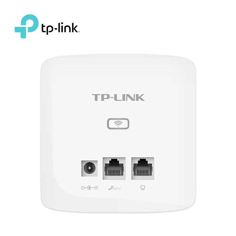 TP-Link 300MBbps Indoor Wall Embedded Wireless WiFi Router Repeater TL-AP300I-DC AP Wireless Access Point 9VDC/0.6A DC Power