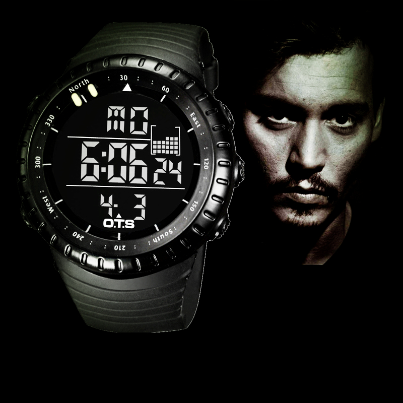 2016 New OTS Brand Fashion Watch font b Men b font Style Waterproof Sports Military Watch