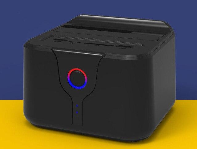 "Blueendless HD03WF Wireless Router HDD Docking Station Repetidor WiFi 2.5 /3.5""Sata External Hard Drive Case USB 3.0 for WIndows"