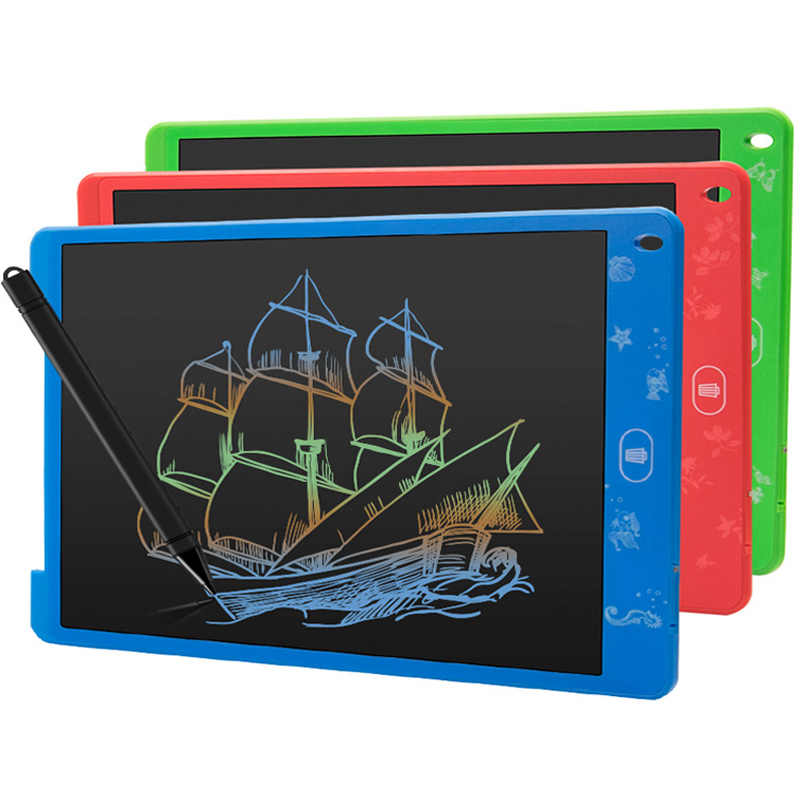 8.5 Inch Drawing Tablet Colorful Screen Electronic Graphic LCD Writing Doodle Board Colour Handwriting Paper Kids Gift With Pen