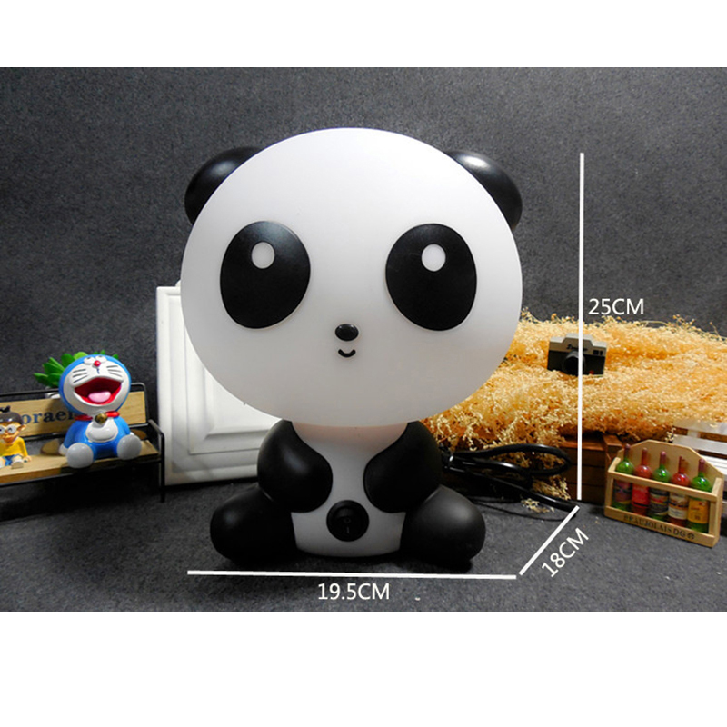 Panda Rabbit Dog Bear Baby Night Light Plug Cartoon Animal 3D Lamp EU US Nursery Children 39 s Bedroom Toys Gifts Decor in Night Lights from Lights amp Lighting