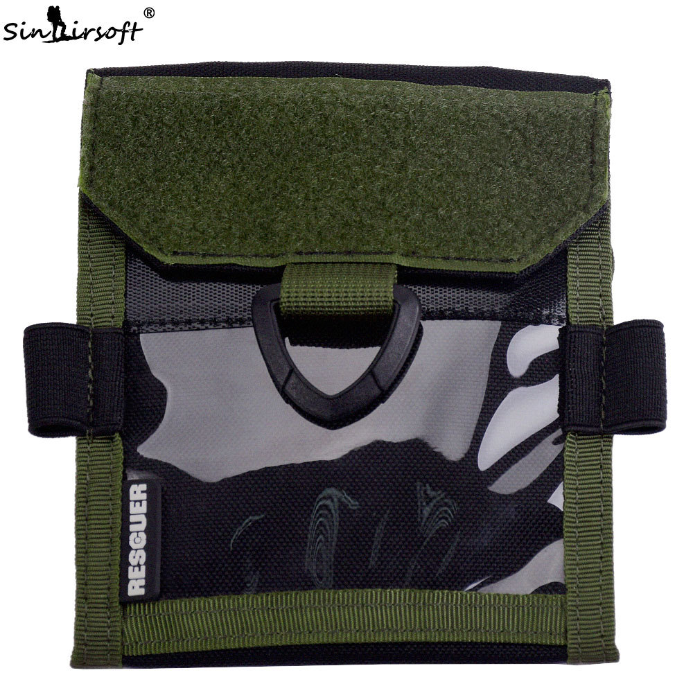 SINAIRSOFT Outdoor sports Tactical Passport Wallets travel card Holder Protable Document Messenger Shoulder Pouch LY2039Q vintage recorder passport set 3d stereo document card пакет як падарунак для жанчын