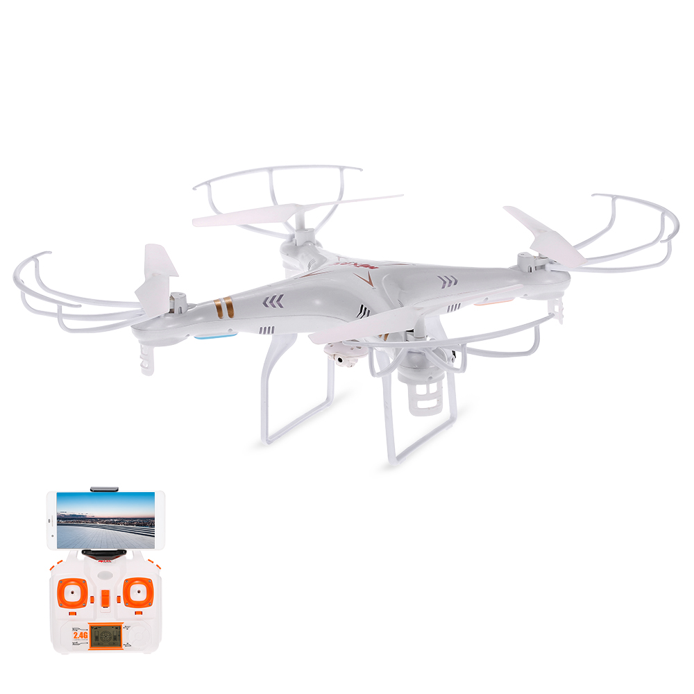 MJX X705C Wifi FPV C4005 0.3MP HD camera 2.4G 6-axis Gyro 3D Flip RC Quadcopter VS Syma X5c Helicopter free shipping mjx x800 6 axis gyro quadcopter 3d roll w c4005 wifi fpv cam 2 motor battery